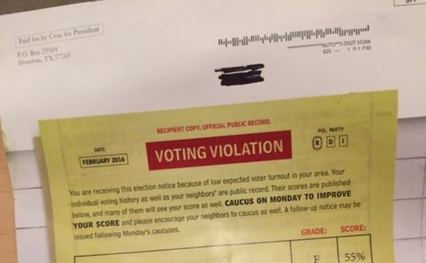 voting violation 2