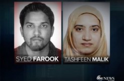 Syed Farook and Tashfeen Malik, via ABC screengrab