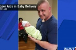 trooper, baby, via WHNT screengrab