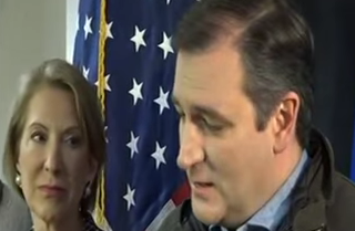 carly and ted cruz