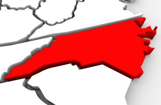 North Carolina via Shutterstock