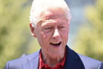 Bill Clinton via shutterstock