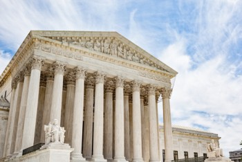 Supreme Court via shutterstock