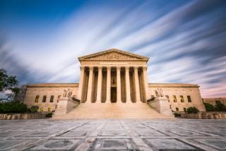 Image of Supreme Court via Shutterstock