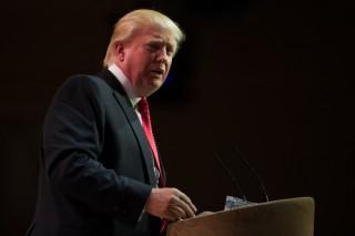 Image of Donald Trump via Christopher Halloran/Shutterstock