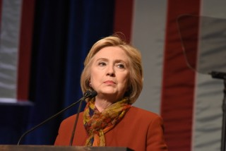 Image of Hillary Clinton via a katz/Shutterstock