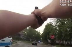 Bodycam video 1 via IPRA screengrab