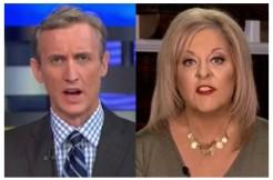 Dan Abrams and Nancy Grace via ABC News