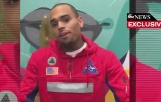 Chris Brown via ABC News screengrab