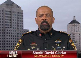 Sheriff David Clarke via Fox Business screengrab