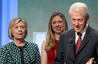 Bill Hillary Chelsea Clinton (Shutterstock)