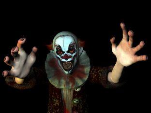 clown via shutterstock