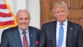 Rudy Giuliani, Donald Trump, 2016