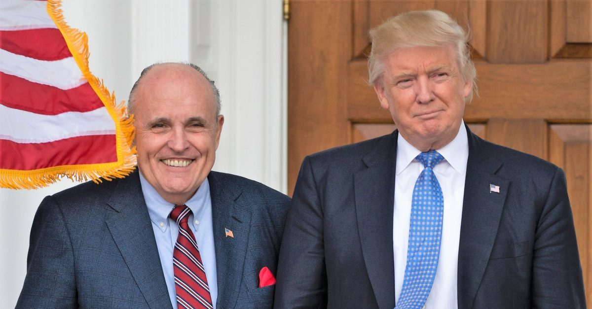 Rudy Giuliani, Donald Trump, 2016
