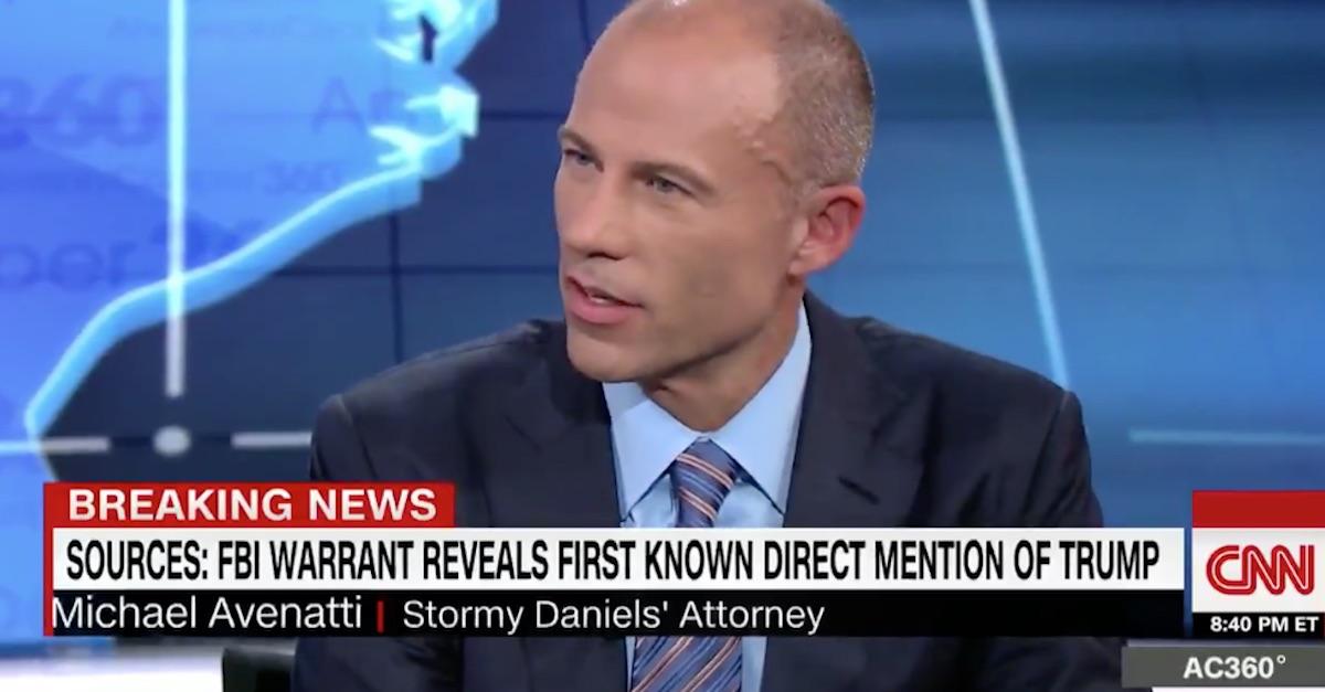 Anderson Cooper CNN Michael Avenatti Stormy Daniels Michael Cohen raid Donald Trump