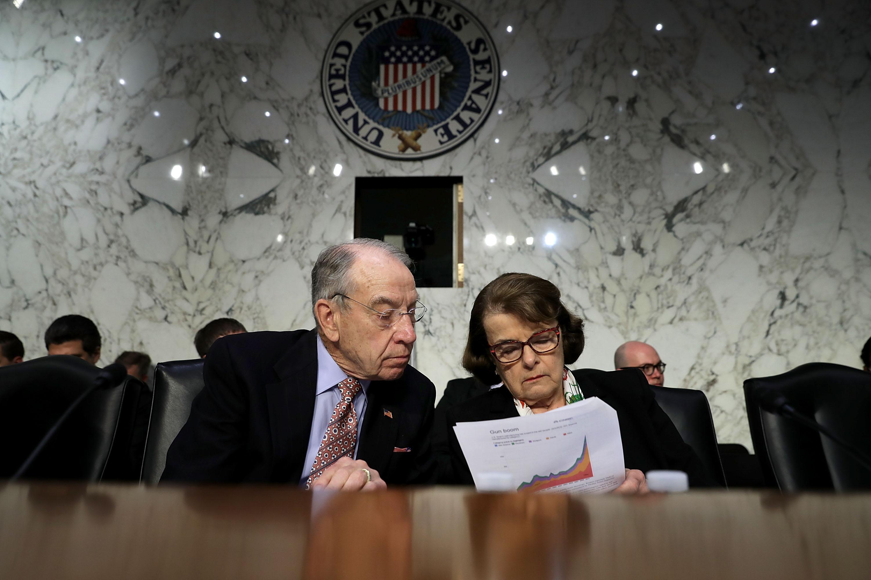 Chuck Grassley, Diane Feinstein, Senate Judiciary Committee