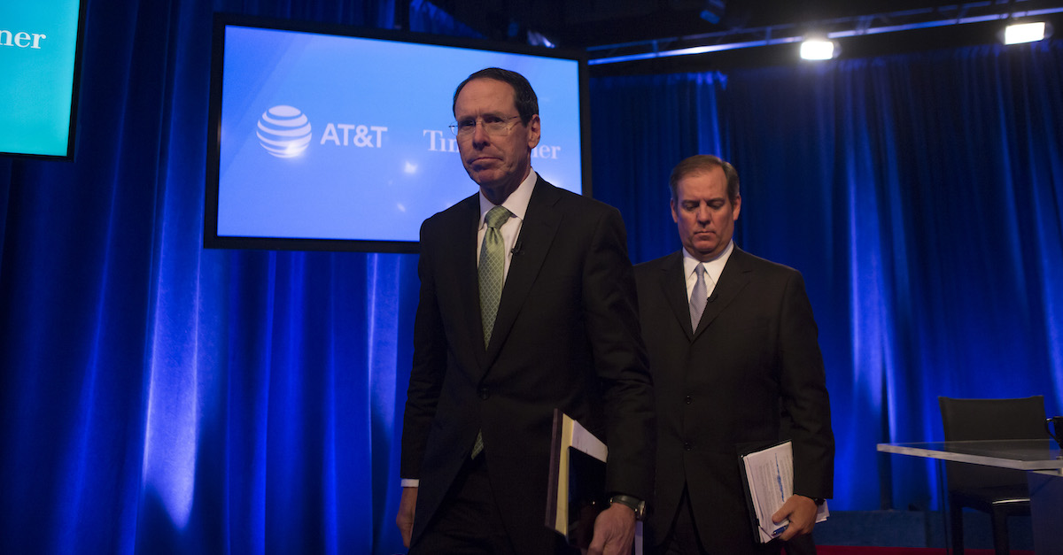 AT&T-Time Warner merger