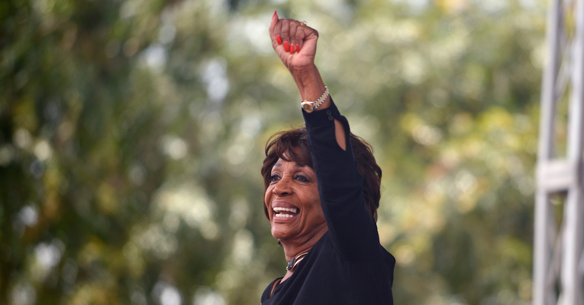 Rep. Maxine Waters (D-Calif.) at Los Angeles Pride March