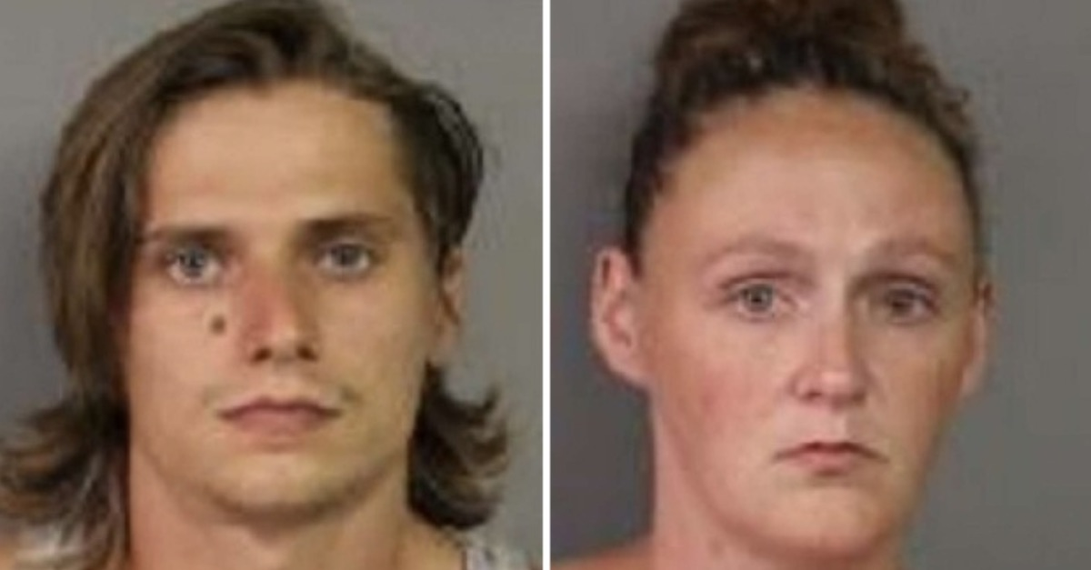 Scott Hill, Megan Karl mugshots