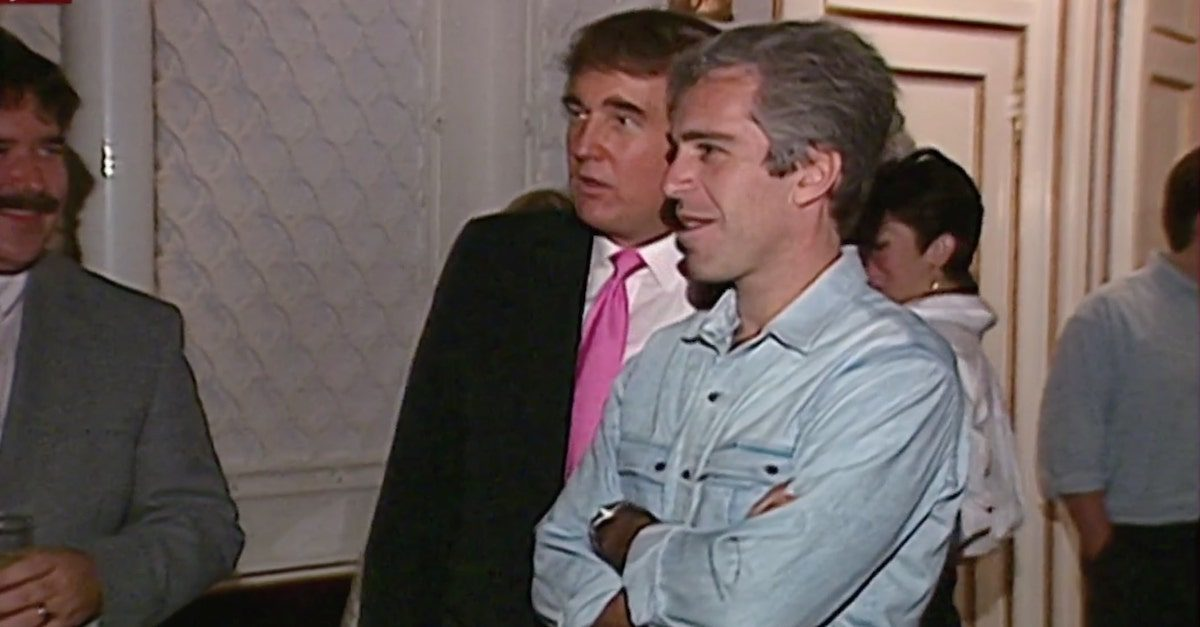 Trump and Epstein