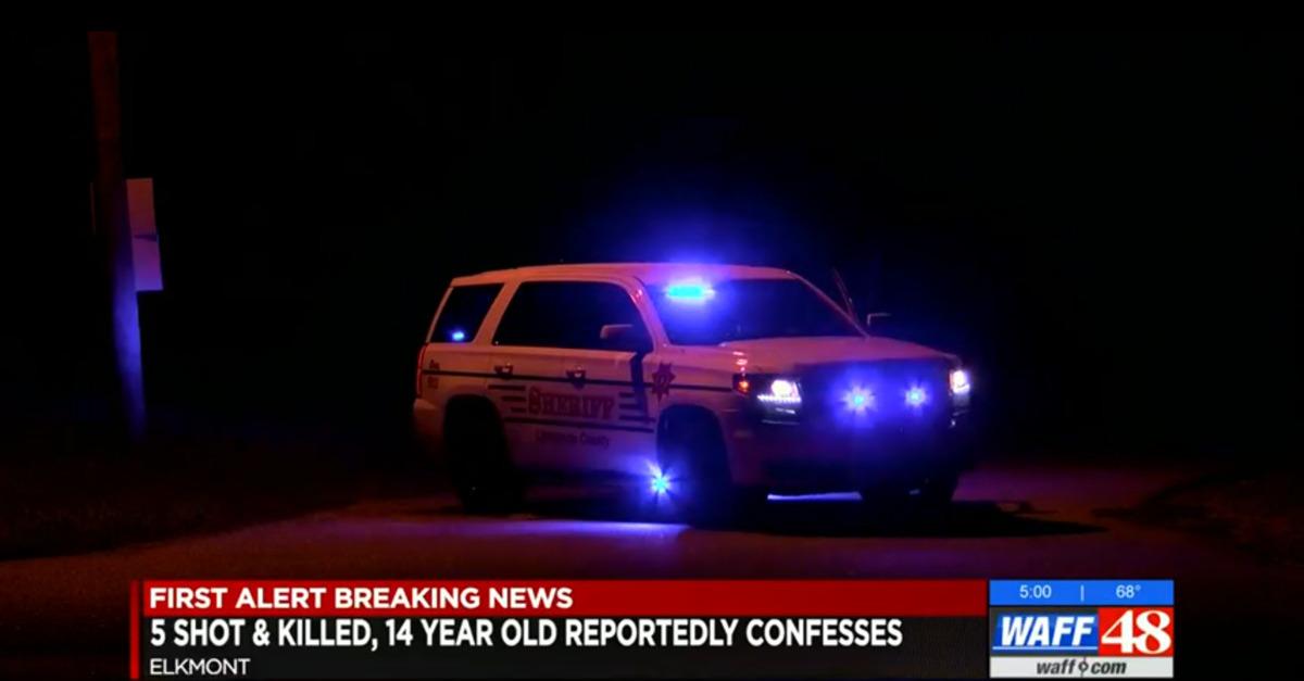 14-Year-Old Kills Family