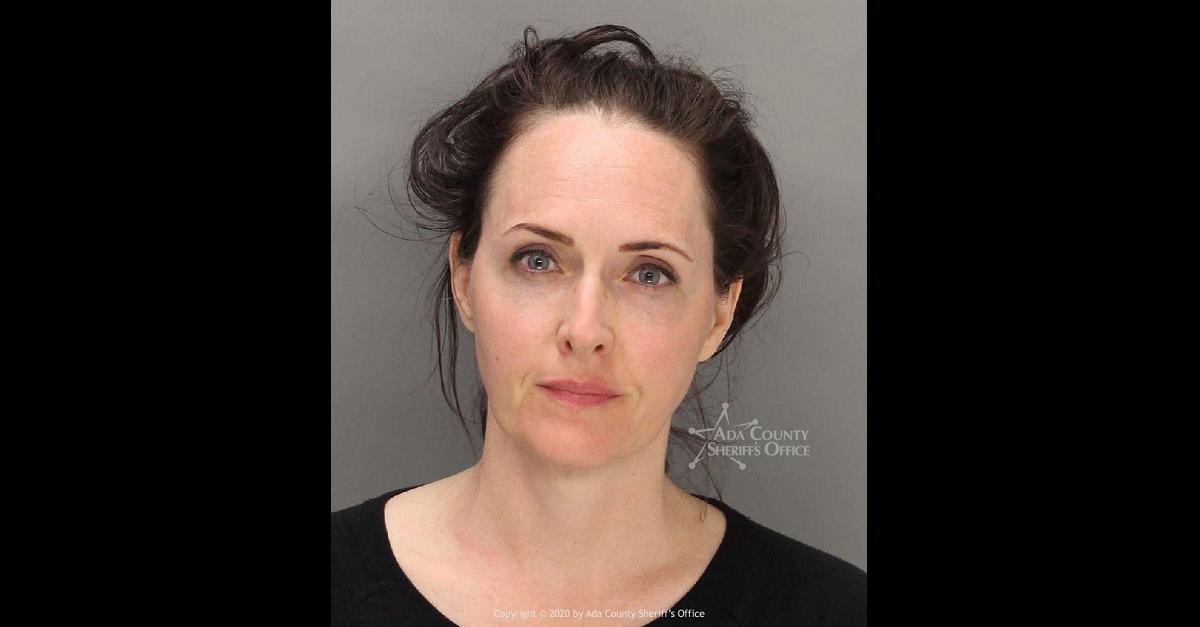 Sara Brady, Idaho, Coronavirus, COVID-19, Park, Playground, Arrest, Anti-Vaxxer, Vaccine, Mugshot