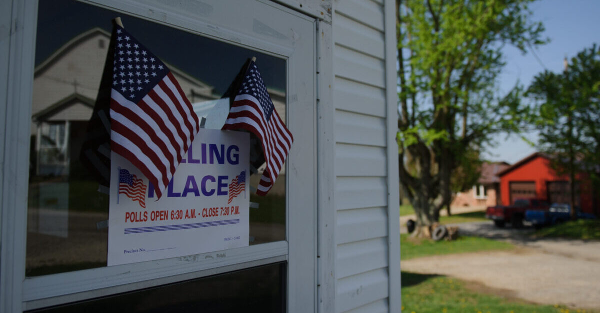 DALLAS, WV - MAY 08: Voters went to the polls at the Dallas Community Center on May 8, 2018 in Dallas, West Virginia. Voter turnout at the rural Marshall County polling place was low early Tuesday with only 30 voters in the first 4 hours of polls opening. (Photo by Jeff Swensen/Getty Images)