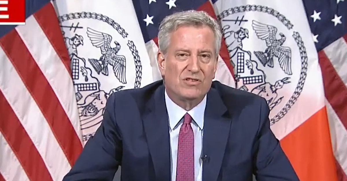 NYC Mayor de Blasio's daughter arrested for 'unlawful assembly' during Saturday protest