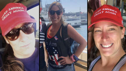 Woman Shot and Killed at U.S. Capitol Building on January 6, 2020, in Washington, D.C.