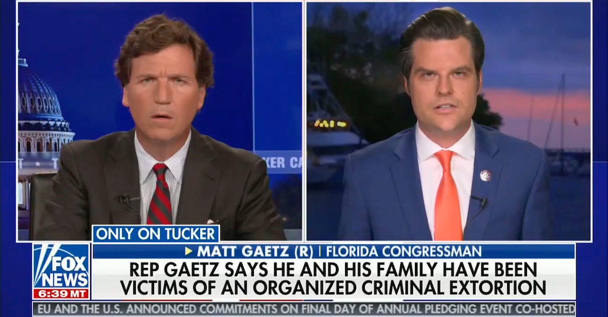 Gaetz: 'Sexual Conduct' Probe Is Based on False Allegations