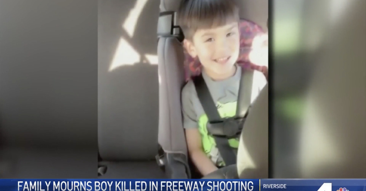Boy's last words to mum after being shot in road rage attack
