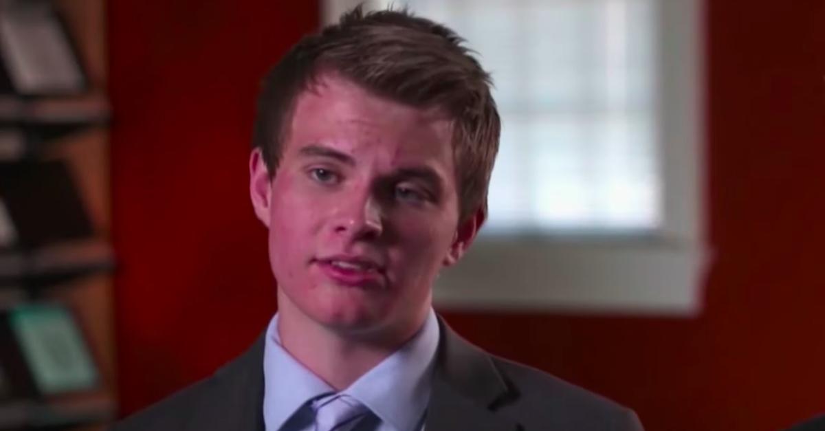 screenshot of John Lambert during NBC News interview