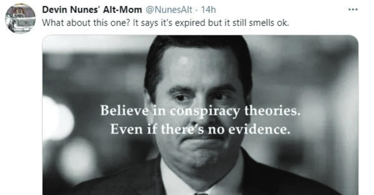 NunesAlt tweet embedded in Twitter's motion