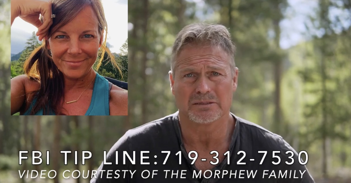 Barry Morphew pleading for Suzanne Morphew's safe return