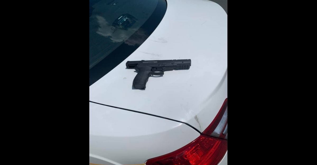 BB gun allegedly belonging to James Springer