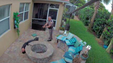 Florida state trooper George Smyrnios tasing 16-year-old Jack Rodeman
