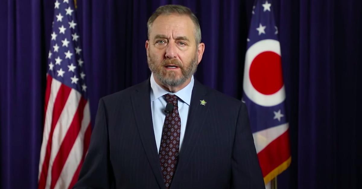 Ohio AG Dave Yost via YT