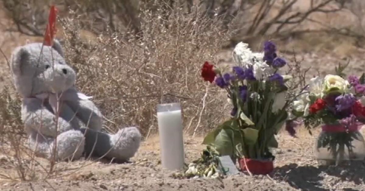 Memorial for Willow Sanchez, Daytona Bronas, and Sandra Mizer.