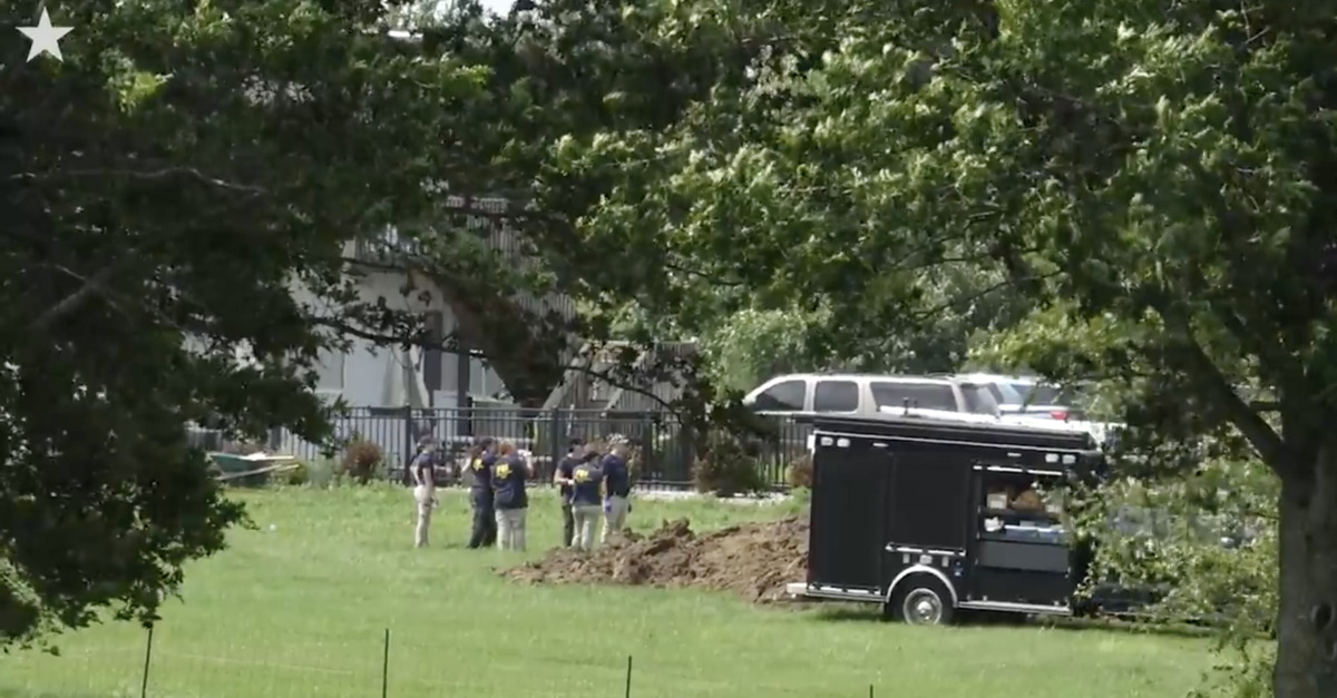 FBI and local law enforcement uncover a body in Missouri