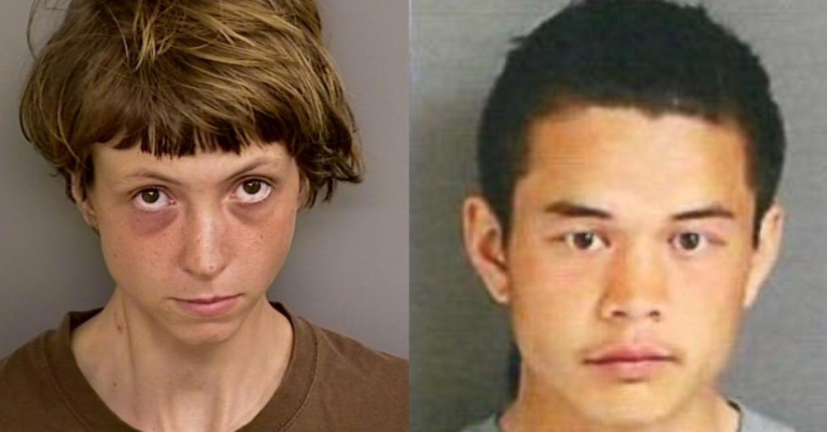 Caitlin Crenshaw and Cody Huyhn via San Bernardino County Jail