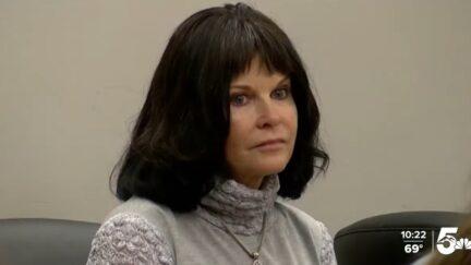 Carla Marie Faith in court
