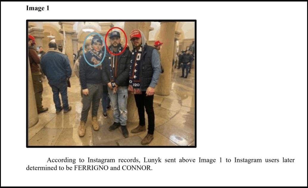 Francis Connor and Antonio Ferrigno