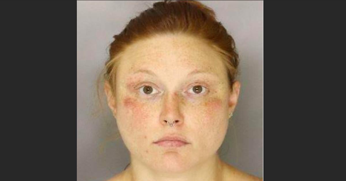 Mugshot of Jennifer Tupper via MVPD