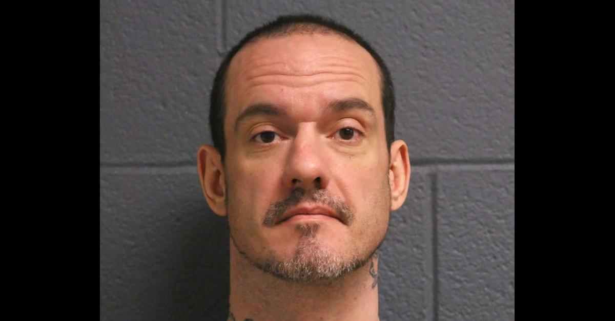 Kenny McBride appears in a jail mugshot.