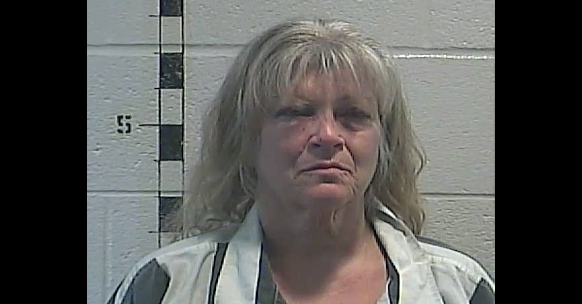 Michelle McCarty is seen in a Shelbyville County Jail mugshot.