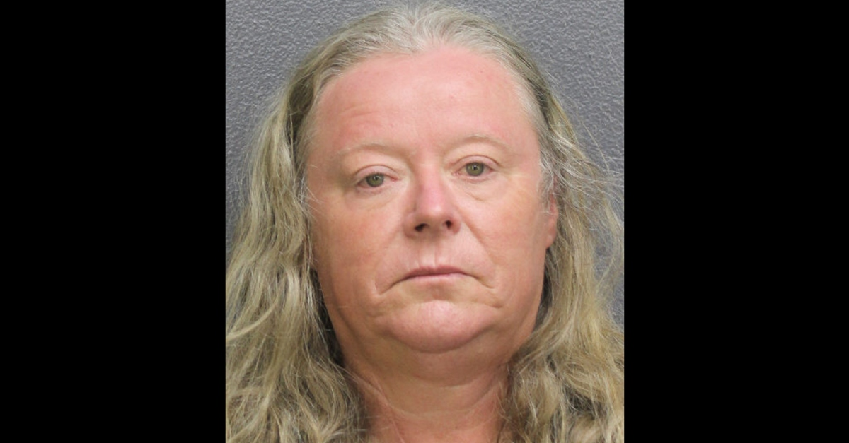 Michelle Gibb booking photo