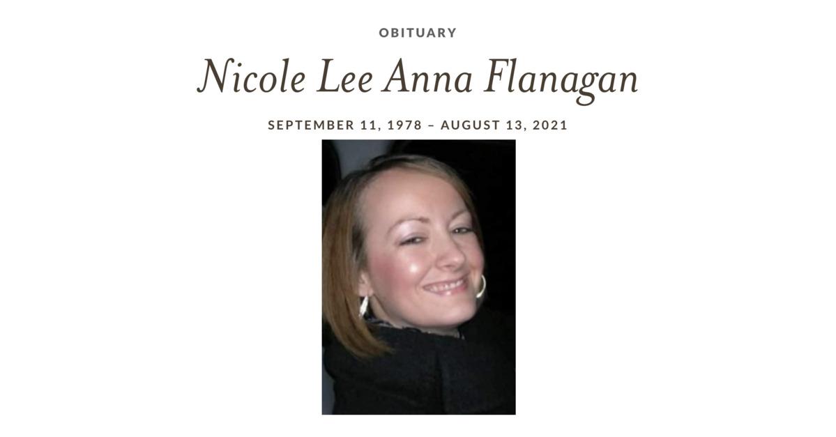 Nicole Flanagan's obituary