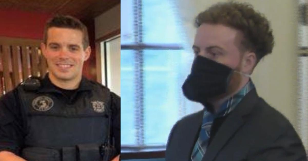 K-9 Officer Sean Gannon; murder defendant Thomas Latanowich