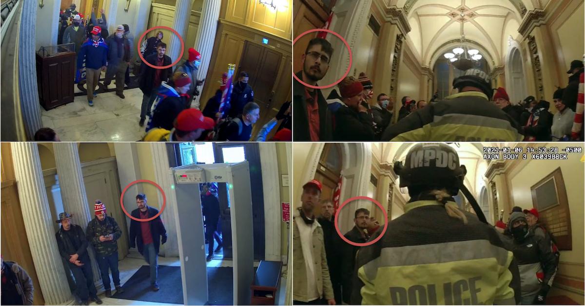 Surveillance and bodycam footage of Brandon Prenzlin