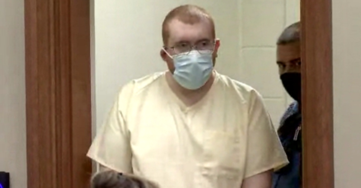 Joseph Ray Daniels in court